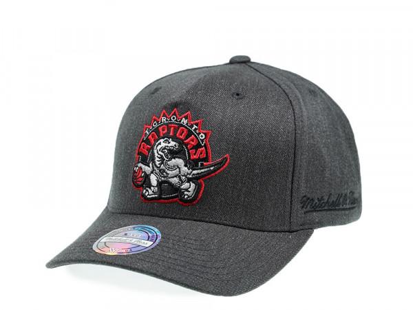 Mitchell & Ness Toronto Raptors Gray Eazy 110 Flex Snapback Cap