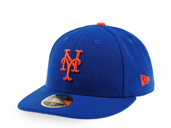 New Era New York Mets Alternate Authentic Onfield Low Profile  59Fifty Fitted Cap