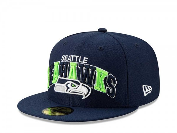 New Era Seattle Seahawks Sideline Cap Home 59Fifty Fitted Cap