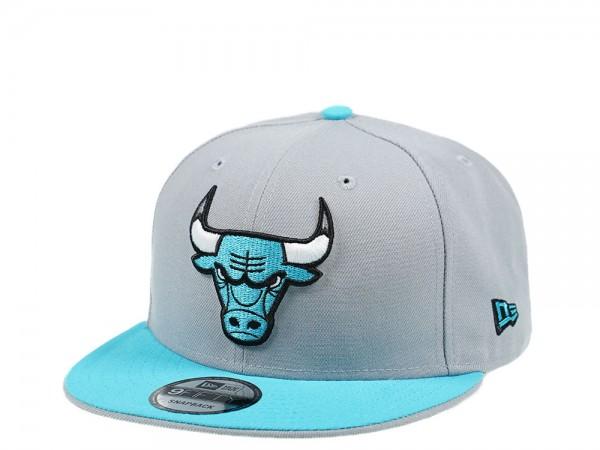 New Era Chicago Bulls Gray Vice Edition 9Fifty Snapback Cap