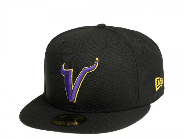 New Era Minnesota Vikings Alternate Logo Edition 59Fifty Fitted Cap