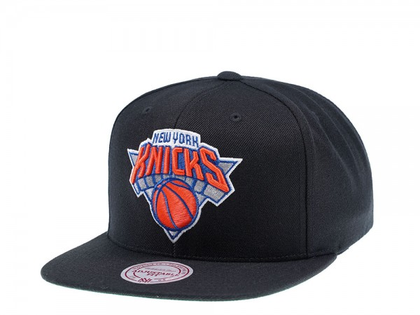 Mitchell & Ness New York Knicks Wool Solid Snapback Cap