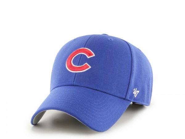 47brand Chicago Cubs Classic Blue MVP Strapback Cap