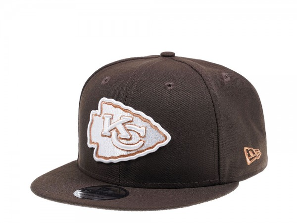 New Era Kansas City Chiefs Walnut Edition 9Fifty Snapback Cap