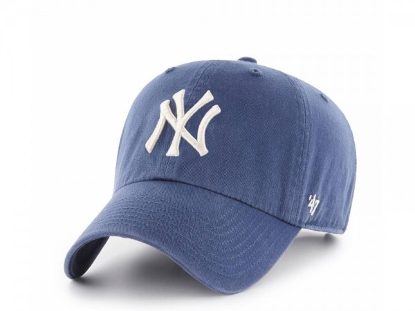47Brand New York Yankees Clean Up Timber Blue Strapback Cap