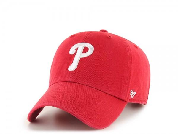 47Brand Philadelphia Phillies Clean Up Strapback Cap