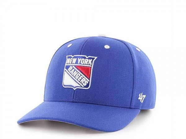 47brand New York Rangers MVP DP Strapback Cap
