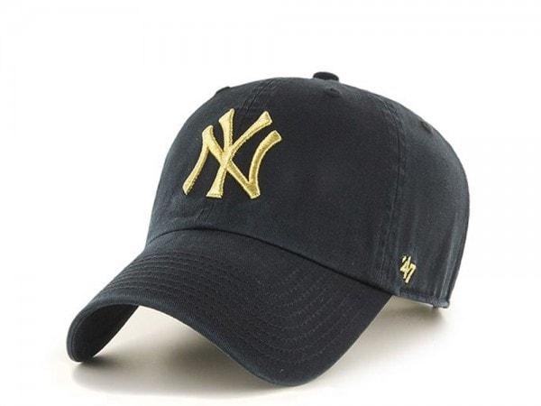 47brand New York Yankees Metallic Clean up Strapback Cap