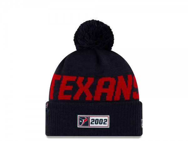 New Era Houston Texans Sideline 2019 Road Mütze