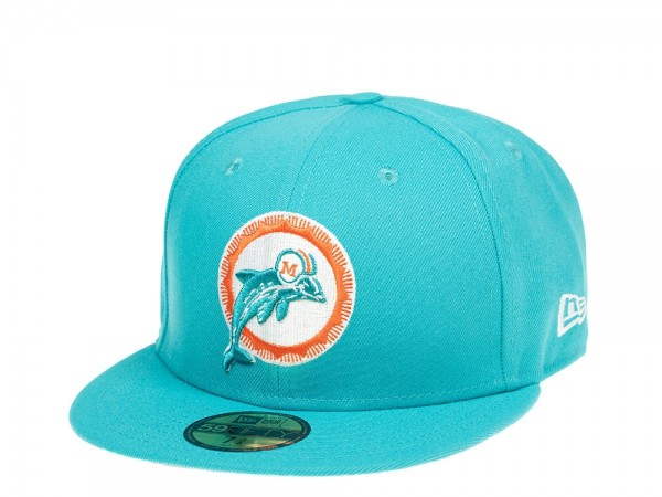 New Era Miami Dolphins All About Blue Edition 59Fifty Fitted Cap