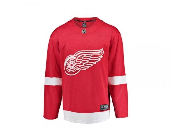 Detroit Red Wings Trikot Home - Fanatics Breakaway NHL Jersey