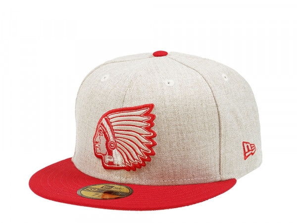 New Era Boston Braves Heather Sandstorm Edition 59Fifty Fitted Cap
