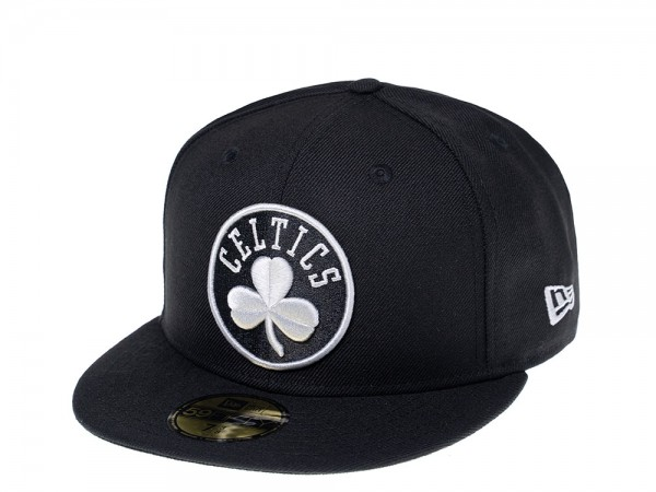 New Era Boston Celtics Gray Edition 59Fifty Fitted Cap