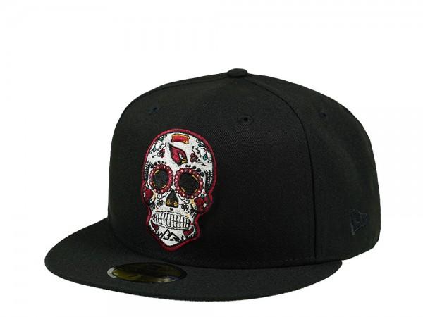 New Era Arizona Cardinals Skull Edition 59Fifty Fitted Cap
