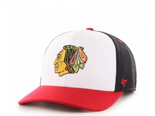 47Brand Chicago Blackhawks Cold Zone MVP DP Snapback Cap