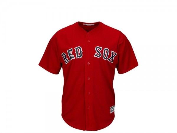 Majestic Boston Red Sox Cool Base MLB Trikot rot