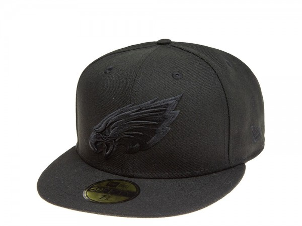 New Era Philadelphia Eagles All About Black 59Fifty Fitted Cap